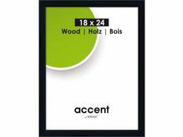 Nielsen - Accent Wood - cadre photo - 18 x 24 cm - noir