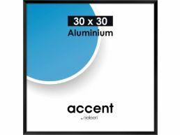 Nielsen - Accent - cadre photo aluminium - 30 x 30 cm - noir