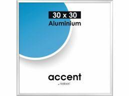 Nielsen - Accent - cadre photo aluminium - 30 x 30 cm - argent