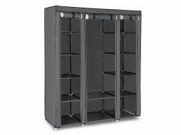Armoire - pliable - 150x175x45 cm - gris