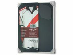 Nielsen - Frame Box cadre pour t-shirt de collection - 60 x 80 cm - gris argenté