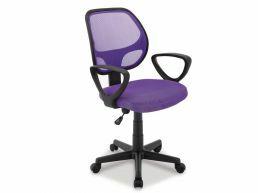 Chaise de bureau lila