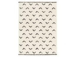 Tapis - moderne , 160x230 cm - birdy - crème