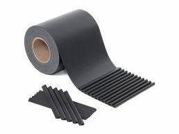 Brise-vue PVC - pour cacher la terrasse ou masquer la clôture - opaque - 40x19 cm - anthracite