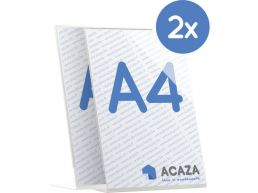 L-Display - cadre photo verticale - acrylique - A4 21 x 29,7 cm - lot de 2