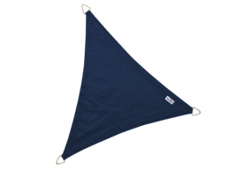 Nesling - Coolfit - voile d'ombrage - triangulaire 3,6x3,6x3,6 m - bleu marine
