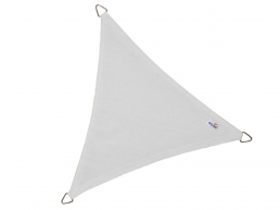 Nesling - Coolfit - voile d'ombrage - triangulaire 5x5x5 m - blanc neige