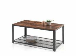 Table basse - vintage - 106x45x60 cm - vintage brun
