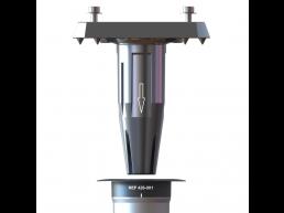 Gard & Rock - base réglable - pour parasol déporté - gris argenté