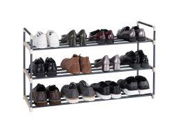 Deuxième chance - Meubles à chaussures - empilable - 92x54x30 cm - gris