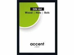 Nielsen - Accent Wood - cadre photo - A4 - noir