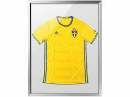 Cadre pour t-shirt de collection - 60 x 80 cm - gris argenté