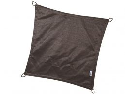 Nesling - Coolfit - voile d'ombrage - carrée 3,6x3,6 m - anthracite