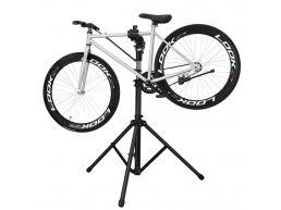 Support de réparation pour vélo pro - avec pince - noir