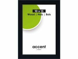 Nielsen - Accent Wood - cadre photo - 10 x 15 cm - noir