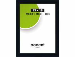 Nielsen - Accent Wood - cadre photo - 13 x 18 cm - noir
