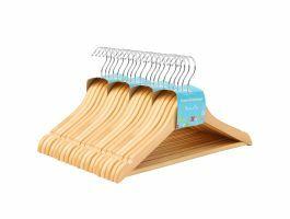 Cintres - pour enfants - crochet rotatif - 20 pièces - érable de haute qualité - brun