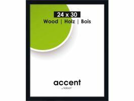 Nielsen - Accent Wood - cadre photo - 24 x 30 cm - noir