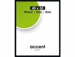 Nielsen - Accent Wood - cadre photo - 40 x 50 cm - noir