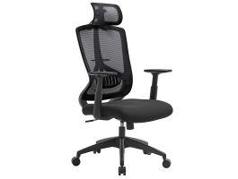 Chaise de bureau ergonomique - confortable - noir