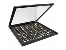 Deknudt - Cadre de capsules de champagne - 50 x 50 cm - noir