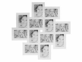 Deknudt - cadre pèle-mêle 12 photos - 10 x 15 cm - blanc