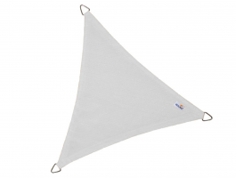 Nesling - Coolfit - voile d'ombrage - triangulaire 3,6x3,6x3,6 m - blanc neige