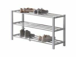 Meuble à chaussures - look moderne - 80x45x28,5 cm - blanc