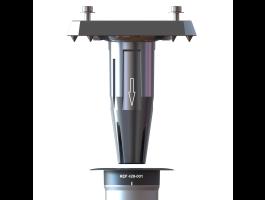 Gard & Rock - base réglable - pour parasol déporté - aluminium