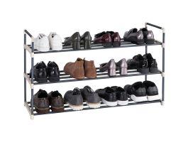 Meubles à chaussures - empilable - 92x54x30 cm - gris