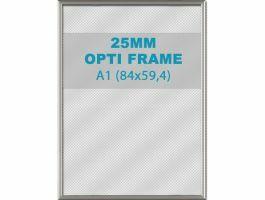 Cadre clic-clac opti - 25 mm - A1 - gris