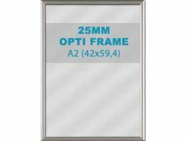 Cadre clic-clac opti - 25 mm - A2 - gris
