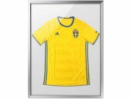 Cadre pour t-shirt de collection - 60 x 80 cm - argent/gris