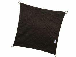 Nesling - Coolfit - voile d'ombrage - carrée 5x5 m - noir