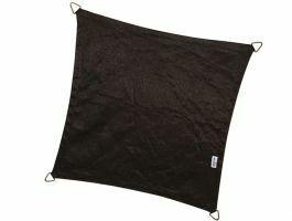 Nesling - Coolfit - voile d'ombrage - carrée 3,6x3,6 m - noir